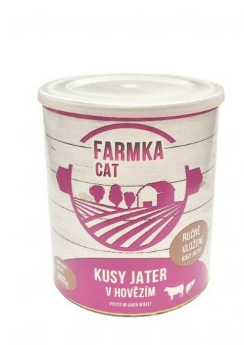 FALCO FARMKA CAT s játry 8x800 g