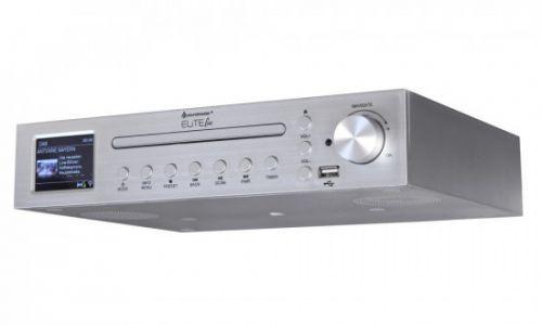 Soundmaster ICD2200SI kuchyňské rádio DAB+/ FM/ BT/ CD/ USB/ Stříbrné