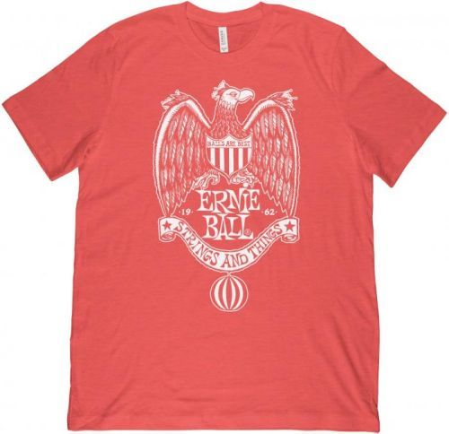 Ernie Ball 1962 Strings & Things Red T-Shirt S