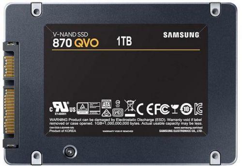 SAMSUNG SSD 1TB Samsung 870 QVO SATA III (MZ-77Q1T0BW)