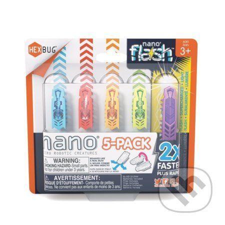HEXBUG Nano 5pack - Nano + 1 Flash - LEGO