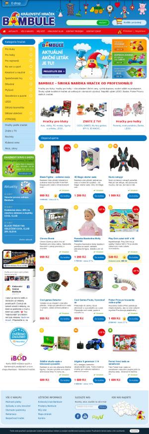 6a3965c9f Bambule Království hraček | SledujCenu.cz