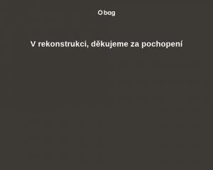 Vzled internetové stránky obchodu O bag