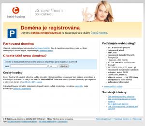 Vzled internetové stránky obchodu Levné potraviny s.r.o.