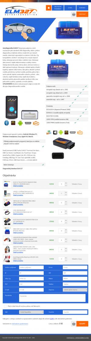Vzled internetové stránky obchodu ikup.eu