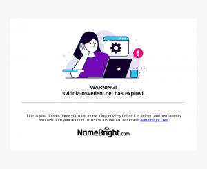 Vzled internetové stránky obchodu Svítidla-Osvětlení.net - svítidla, žárovky, bublinková fólie