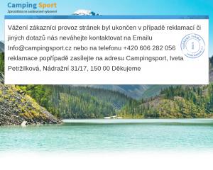 Vzled internetové stránky obchodu Campingsport.cz