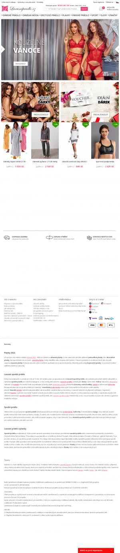Vzled internetové stránky obchodu TrendShop.cz kabelky