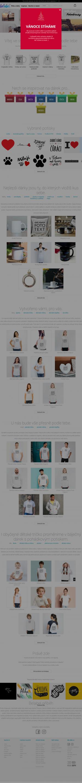 Vzled internetové stránky obchodu belabel