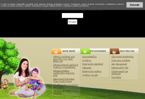 Vzled internetové stránky obchodu Obchodbodlinka
